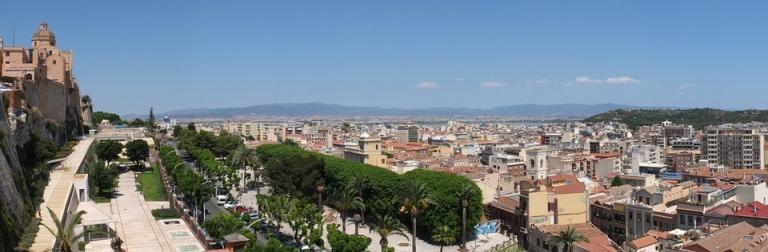 Cagliari vista